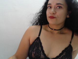 Picture of the sexy profile of Ellenna, for a very hot webcam live show !