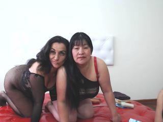 DuocChaudeess pussy eating cam show