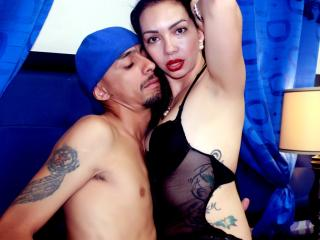 PassionCrazyCouple live striptease