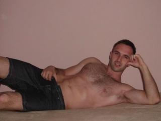 Picture of the sexy profile of AaronChamp, for a very hot webcam live show !