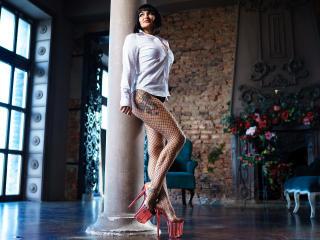 Velmi sexy fotografie sexy profilu modelky AizaShake pro live show s webovou kamerou!