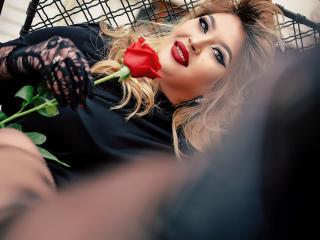 Velmi sexy fotografie sexy profilu modelky AmandaAlice pro live show s webovou kamerou!