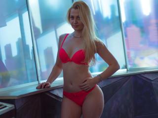 Velmi sexy fotografie sexy profilu modelky AmelieFountaine pro live show s webovou kamerou!