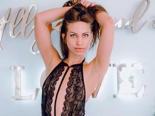Sexy profilbilde av modellen  AngellySky, for et veldig hett live webcam-show!