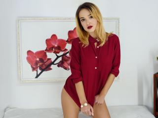 Velmi sexy fotografie sexy profilu modelky BelleFilleS pro live show s webovou kamerou!