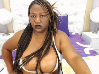 Picture of the sexy profile of BlackBombShell, for a very hot webcam live show !