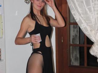 Velmi sexy fotografie sexy profilu modelky Bordelaise pro live show s webovou kamerou!