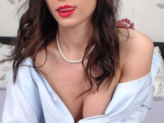 Picture of the sexy profile of Cali, for a very hot webcam live show !