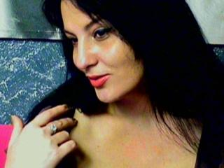 Picture of the sexy profile of DimpleSmile, for a very hot webcam live show !
