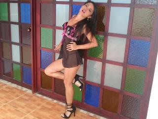 Velmi sexy fotografie sexy profilu modelky DollyKinky pro live show s webovou kamerou!