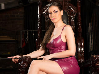 Picture of the sexy profile of DominaSue, for a very hot webcam live show !