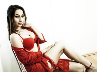 Velmi sexy fotografie sexy profilu modelky FoxyCrissy pro live show s webovou kamerou!