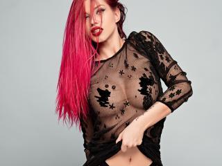 Model FoxyDevilish'in seksi profil resmi, çok ateşli bir canlı webcam yayını sizi bekliyor!