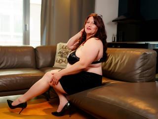 Velmi sexy fotografie sexy profilu modelky HairySonia pro live show s webovou kamerou!