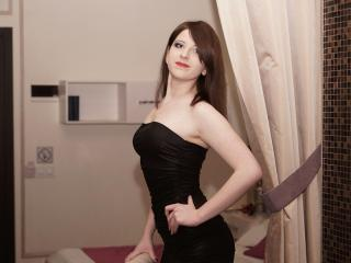 Photo de profil sexy du modèle JessieCash, pour un live show webcam très hot !