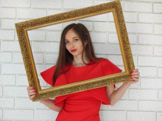 Velmi sexy fotografie sexy profilu modelky Karamely pro live show s webovou kamerou!