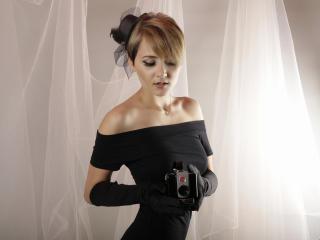 Velmi sexy fotografie sexy profilu modelky KloeLove pro live show s webovou kamerou!
