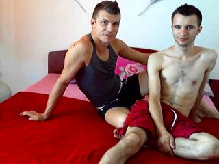 Picture of the sexy profile of LukeandNoah, for a very hot webcam live show !