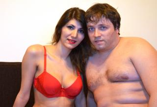 Picture of the sexy profile of LuxuryCouple, for a very hot webcam live show !