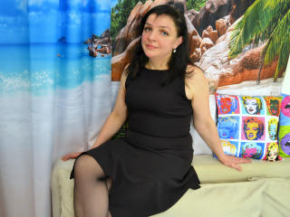 Picture of the sexy profile of Margoretta, for a very hot webcam live show !