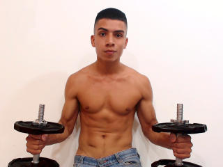 Picture of the sexy profile of MaxVarona, for a very hot webcam live show !