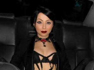Sexy profilbilde av modellen  MistressDelia69, for et veldig hett live webcam-show!