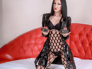 Picture of the sexy profile of MistressDonnaX, for a very hot webcam live show !