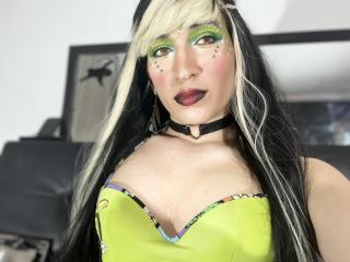 Velmi sexy fotografie sexy profilu modelky NaughtyMarianaTs pro live show s webovou kamerou!