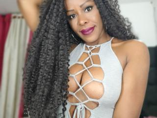 Sexet profilfoto af model PameFilleChaude, til meget hot live show webcam!