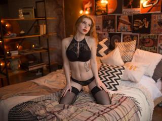 Model Pelirrojo'in seksi profil resmi, çok ateşli bir canlı webcam yayını sizi bekliyor!