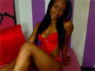 Picture of the sexy profile of Petiterouse, for a very hot webcam live show !