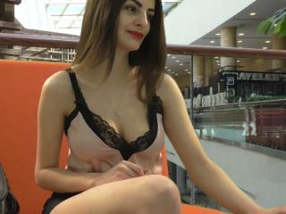 Picture of the sexy profile of SmartTina, for a very hot webcam live show !