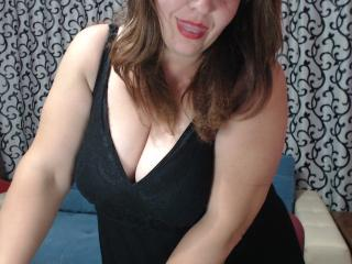 Picture of the sexy profile of SnowDrops, for a very hot webcam live show !