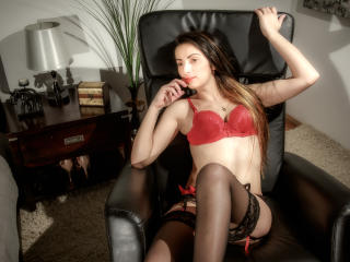Picture of the sexy profile of SuperbeAmy, for a very hot webcam live show !
