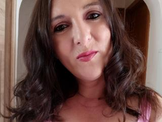 Sexet profilfoto af model TesDesiresX, til meget hot live show webcam!