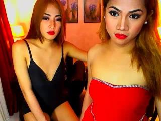 Picture of the sexy profile of TWOcumSweetHeartS, for a very hot webcam live show !