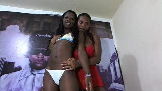 Picture of the sexy profile of TwoEbonyGirls, for a very hot webcam live show !