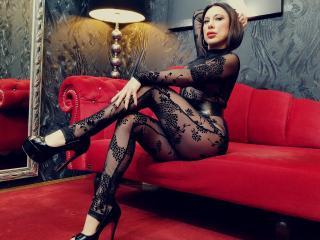 Velmi sexy fotografie sexy profilu modelky WandaDominatrix pro live show s webovou kamerou!