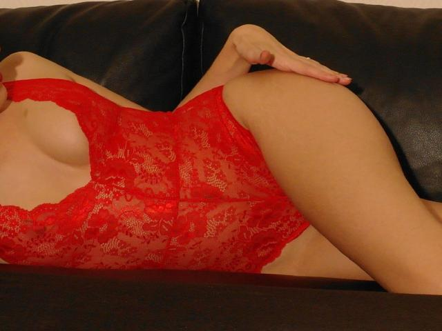 Picture of the sexy profile of LaFrancaise, for a very hot webcam live show !