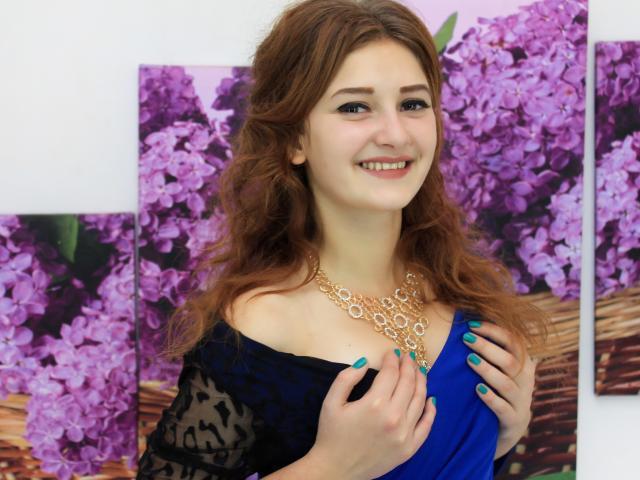 Sexet profilfoto af model NicoleRae, til meget hot live show webcam!