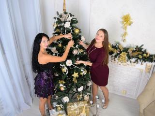 NikaXRysa - Show live nude with this dark hair Woman sexually attracted to other woman