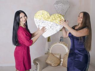 NikaXRysa - online show hot with this black hair Lesbo
