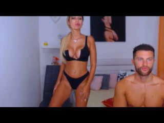 AnaAndMason - Webcam sex with a shaved genital area Female and male couple