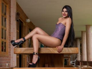 Meliina - chat online hot with this auburn hair Transgender