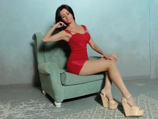 JennySpring - Live cam sex with this black hair Nude girl