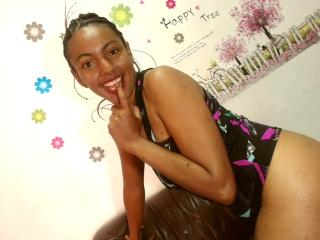 Photo de profil sexy du modèle CuteCaribbean, pour un live show webcam très hot !