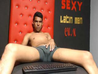 Picture of the sexy profile of BlackLatin, for a very hot webcam live show !