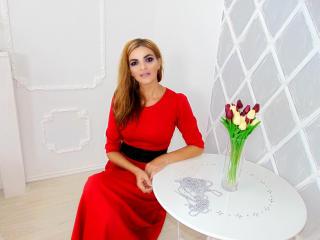 Photo de profil sexy du modèle AirMila, pour un live show webcam très hot !