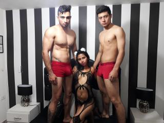 GroupHornyHotties - Show live sex with a Orgy