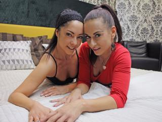 JasminAndAlyssa - Web cam nude with this being from Europe Lesbo